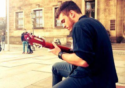 Bartek Dabrowski Guitarist Busker